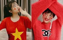 """Cả dàn sao Việt """"nhuộm đỏ"""" mạng xã hội khi cùng diện áo đỏ mừng chiến thắng của đội tuyển Việt Nam"""