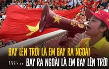 """""""Bay lên trời là em bay ra ngoài"""" - Học thuộc ngay câu """"thần chú"""" lấy cảm hứng từ ca khúc thiếu nhi để lên """"dây cót"""" tinh thần cho tuyển Việt Nam các bạn ơi!"""