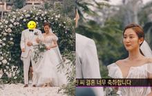 Đám cưới tình cũ Lee Jun Ki gây xôn xao MXH: Váy cưới, trang trí đẹp như cổ tích, thân thế chồng nữ minh tinh được chú ý