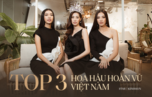 Top 3 Hoa hậu Hoàn vũ ngồi lại chia sẻ hậu đăng quang: Khánh Vân không muốn làm bản sao, Thúy Vân và Kim Duyên buồn vì không có vương miện!