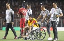 Sao Indonesia phải ngồi xe lăn sau pha va chạm với Văn Hậu: Tôi đã tha thứ vì cậu ấy không cố ý