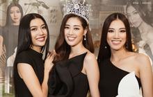 """Bộ ảnh đầu tiên của Top 3 Hoa hậu Hoàn vũ sau đăng quang: Khánh Vân đẹp xuất thần, Kim Duyên và Thúy Vân sắc sảo """"mười phân vẹn mười"""""""