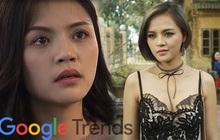 """Hai năm liền có phim truyền hình thống trị Google Trends, nhất """"gái ngành"""" Thu Quỳnh rồi còn đâu!"""