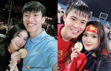 Đoàn Văn Hậu đeo huy chương vàng cho bạn gái hệt như couple Duy Mạnh - Quỳnh Anh: Đã vô địch lại còn có tình yêu đẹp, hoàn hảo quá rồi!
