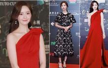 """Yoona thay liền 2 bộ váy: Vừa kín đáo đã quay ngoắt sang lồng lộn đúng chuẩn """"nữ hoàng thảm đỏ"""" khiến ai cũng trầm trồ"""