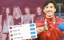 """""""Soi"""" instagram phát hiện: Đoàn Văn Hậu là fanboy của BLACKPINK, Tiến Linh """"theo dõi"""" Phương Ly và Thiều Bảo Trâm, Đức Chinh... """"nhạc nào cũng nhảy"""""""