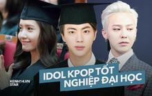 """Dàn idol Kpop tốt nghiệp đại học danh tiếng: GD """"cân"""" tận 2 bằng, SNSD - Suju gây bất ngờ, Tablo là cử nhân của Stanford"""