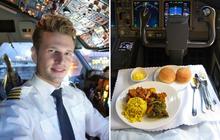 Sự thật là phi công không bao giờ dùng suất ăn giống với các hành khách trên máy bay, vì sao lại như vậy?