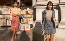 Phụ nữ Pháp diện chân váy theo 5 cách đẹp mê hồn, bạn phải học ngay đi kẻo kết thúc mùa Đông là tiếc nuối