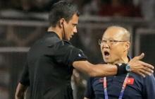 3 ngày sau khi phải nhận thẻ đỏ đầu tiên trong sự nghiệp, HLV Park Hang-seo thẳng thắn lên tiếng: Trọng tài giỏi sẽ không quyết định như thế
