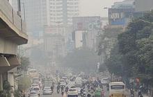 Không khí Hà Nội tiếp tục ở mức ô nhiễm nặng, rất có hại cho sức khỏe