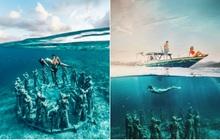 Lặn biển và kết bạn với… những pho tượng, trải nghiệm kỳ lạ chỉ có tại khu vườn điêu khắc dưới đáy đại dương ở Indonesia
