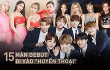 """15 màn debut xứng đáng đi vào """"huyền thoại"""" của Kpop: Quá nửa đến từ Big 3, toàn những ca khúc, vũ đạo thuộc dạng """"bất hủ"""""""
