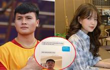 """Xôn xao lộ đoạn chat của Quang Hải gửi bạn gái tin đồn """"hot girl 1m52"""": Tuyệt đối quan tâm, tuyệt đối tình cảm!"""