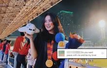 """""""Nỗ lực"""" như dân mạng Indonesia: Tràn vào Instagram của Hoàng Anh (Ốc) để tấn công, khuyên cô nàng yêu mình thay vì Đoàn Văn Hậu"""