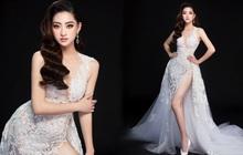 Lương Thùy Linh hé lộ trang phục dạ hội khoe đôi chân cực phẩm 1m22, sẵn sàng cho chung kết Miss World tối nay