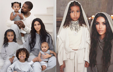 Kim ''siêu vòng 3'' khoe ảnh gia đình nhân dịp Noel, dàn nhóc tỳ khiến netizen dậy sóng: Đúng là visual không đùa được