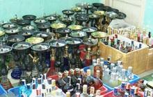 Phát hiện 59 bình shisha, gần 400 chai rượu ngoại không rõ nguồn gốc trong quán bar ở Đà Nẵng