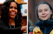 """Michelle Obama nhắn nhủ Greta Thunberg: """"Đừng để ai làm lu mờ ánh sáng của cháu"""""""