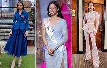 """Hoa hậu Lương Thùy Linh tại Miss World 2019: Chăm """"tái chế"""" đồ cũ, diện đồ đơn giản nhưng vẫn tỏa sáng rạng ngời"""