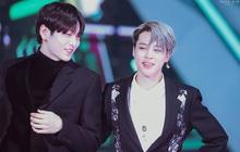 """Jimin (BTS) xứng đáng nhận giải """"đàn anh của năm"""": Lo cho TXT từng tí một, đến lễ trao giải vẫn hết mực ân cần"""