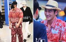 """""""Quỳ"""" với thời trang sân bay của idol nhóm NU'EST: Diện nguyên bộ đồ thổ cẩm như sợ cả thế giới không biết mình vừa đi Thái Lan về!"""