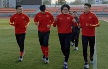 Quang Hải, Đình Trọng vẫn phải tập riêng trong ngày đầu tiên U23 Việt Nam rèn quân trên đất Hàn Quốc