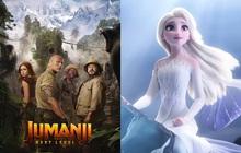 Frozen 2 vừa đạt KPI, Jumanji: The Next Level càn quét cực mạnh phòng vé Bắc Mỹ