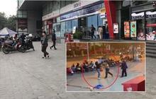 Người dân kể lại giây phút nam bảo vệ trung tâm thương mại cởi trần đấm liên tiếp vào một người phụ nữ giữa phố