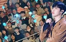 """Giữa tâm bão gian lận phiếu bầu cùng nguy cơ tan rã, các thành viên X1 bất ngờ xuất hiện """"quẩy"""" nhiệt tình tại concert solo của Jaehwan (Wanna One)"""