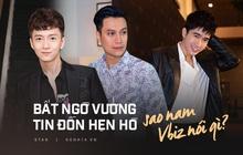 Muôn kiểu sao nam Vbiz phản ứng trước tin đồn hẹn hò: Việt Anh cực gắt, Thanh Bình thẳng thắn, lầy nhất là Ngô Kiến Huy!