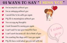 """Khi nhớ người yêu hãy nhắn 44 câu Tiếng Anh cực """"deep"""" này thay vì dùng """"I Miss You""""!"""
