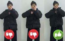 """Cô nàng mi nhon thử 3 chiếc áo khoác để tìm ra chiếc tôn dáng """"hack"""" chân dài nhất"""