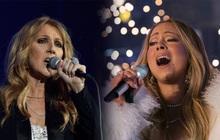 """Khi Diva đấu Diva: Siêu phẩm Giáng sinh của Mariah Carey đến hẹn vẫn """"trồi lên"""" còn Celine Dion sở hữu album… rớt hạng thảm hại nhất lịch sử"""