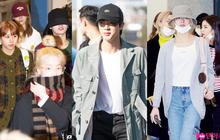 Quân đoàn sao Hàn rũ rượi đổ bộ sân bay hậu MAMA: Jin (BTS) khoe chân dài miên man, TWICE và ITZY xuề xòa đáng thất vọng
