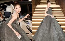 Hiếm lắm mới thấy Ngọc Trinh diện váy công chúa lộng lẫy, phải công nhận rằng còn xuất sắc hơn những bộ váy xẻ hiểm hóc