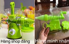 """Không gì bất ngờ bằng mua hàng online: Đặt máy ép rau quả, cô nàng được """"trở về tuổi thơ"""" với món hàng như đồ chơi trẻ con"""