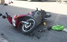 Hà Nội: Xe tải chở hàng va chạm với xe máy, hai người tử vong thương tâm
