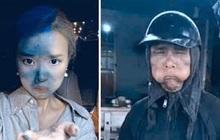 """Dân mạng cãi nhau kịch liệt khi thấy ảnh Midu """"cosplay"""" nhân vật cầm đầu gà: Là tài khoản fake hại Midu hay do cô nàng cũng giỡn quá đà?"""