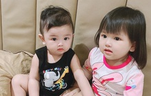 2 nhóc tỳ nhà Trang Pilla: Thừa hưởng hết nét đẹp từ bố mẹ, hứa hẹn trở thành rich kid đình đám trong tương lai
