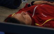 Góc chạnh lòng: Ánh Viên ngủ ngon lành dưới sàn đất trước giờ bơi chung kết ở SEA Games 2019