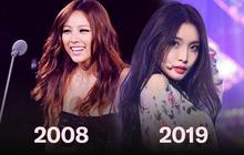 """Không hổ danh là """"nữ hoàng sexy thế hệ mới"""", Chungha xuất sắc lặp lại kỷ lục đáng kinh ngạc mà Lee Hyori đã từng đạt được sau 11 năm"""