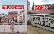 Dân mạng nhức mắt vì góc check-in nổi tiếng ở chợ Đà Lạt bị phá hoại, chằng chịt hình graffiti trên tường