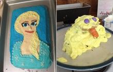 """Được fan hâm mộ gửi tặng bánh kem lấy cảm hứng từ Frozen 2, """"bà hoàng truyền hình"""" Ellen Show tá hỏa: Elsa và Olaf đây ư?"""
