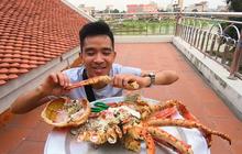 Video ăn cua và tôm Alaska đạt hơn 22 triệu lượt xem của YouTuber Phương Hữu Dưỡng lọt top 10 video nổi bật nhất trên Youtube Việt Nam năm 2019