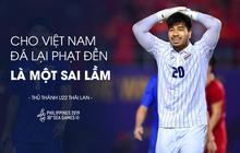 """Thủ môn Thái Lan ấm ức về pha đá lại phạt đền trong trận gặp Việt Nam: """"Trọng tài đã có một quyết định đáng xấu hổ"""""""