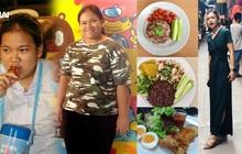 Từ 95kg xuống 50kg, cô gái Thái Lan chia sẻ bí quyết giảm cân trong 6 tháng mà ai cũng có thể làm được