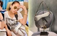"""Chỉ đi tổng duyệt HHHV, Thu Minh cũng chiếm hết spotlight với chiếc túi Dior """"bạch tạng"""" tiền tạ tiền tấn"""