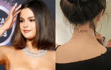 """Selena Gomez có cả chục hình xăm nhỏ xíu xinh muốn xỉu, đảm bảo nàng nào sợ xăm trổ cũng muốn """"quất"""" ít nhất một hình"""