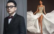 """Hoàng Thùy mặc váy """"hoa giọt tuyết"""" của Công Trí, diễn cuối nhưng đầy ấn tượng tại Bán kết Miss Universe 2019"""
